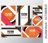 fresh flyer style background... | Shutterstock .eps vector #617280815