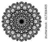 mandalas for coloring book.... | Shutterstock .eps vector #617306405