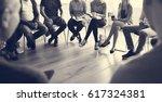 networking seminar meet ups... | Shutterstock . vector #617324381