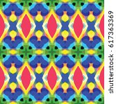 abstract geometric pattern.... | Shutterstock .eps vector #617363369