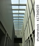 sunlight in the building | Shutterstock . vector #617368235