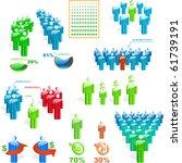 business concept. vector... | Shutterstock .eps vector #61739191