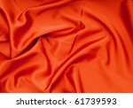 Bright Satin Fabric Folded To...