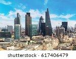 Panoramic Aerial View Of Londo...
