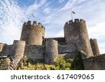 Conwy Castle In Wales In A...