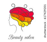 contour bright colourful logo...