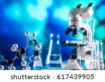 science laboratory research and ... | Shutterstock . vector #617439905