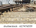 Detail Of An Old Rail Track In...