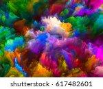 color explosion series.... | Shutterstock . vector #617482601