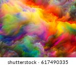 sounds of color series.... | Shutterstock . vector #617490335