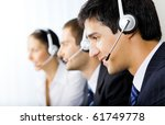 Three Support Phone Operators...