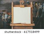 Artistic Equipment In A Artist...