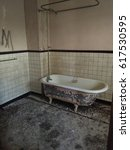Bathtub In An Abandoned...