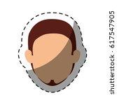 young man avatar character | Shutterstock .eps vector #617547905