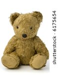 A Very Old And Shabby Teddy...