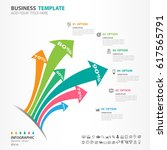 iinfographics elements diagram... | Shutterstock .eps vector #617565791