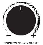 volume control icon. volume... | Shutterstock .eps vector #617580281
