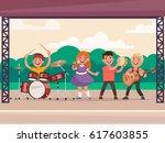 children's music concert in the ...