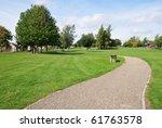 park pathway | Shutterstock . vector #61763578