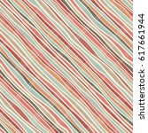 seamless pattern from curves of ... | Shutterstock .eps vector #617661944