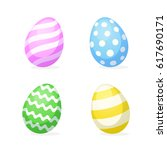 vector illustration. set of... | Shutterstock .eps vector #617690171