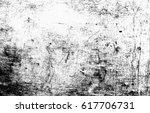 black and white grunge urban... | Shutterstock . vector #617706731