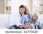 attractive young family with a...   Shutterstock . vector #61772620