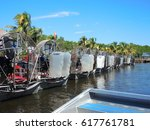 Small photo of Everglades city, March, 2, 2017, Florida, United States of America. Airboat tours at the mangrove forest
