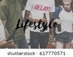 cheers party lifestyle relax... | Shutterstock . vector #617770571