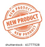 abstract grunge rubber stamp... | Shutterstock .eps vector #61777528