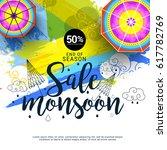 creative sale banner or sale... | Shutterstock .eps vector #617782769