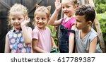 school student tour is a good... | Shutterstock . vector #617789387