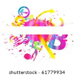 abstract colorful background | Shutterstock .eps vector #61779934