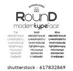 modern minimalistic black sans... | Shutterstock .eps vector #617832869