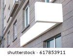Horizontal Mock Up Signboard O...
