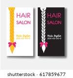set of vector design templates... | Shutterstock .eps vector #617859677