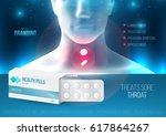 template design branding... | Shutterstock .eps vector #617864267