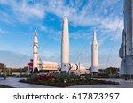 kennedy space center  florida ...   Shutterstock . vector #617873297