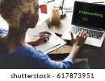 web design coding program... | Shutterstock . vector #617873951