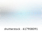 light blue  green vector... | Shutterstock .eps vector #617908091