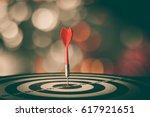 bullseye is a target of... | Shutterstock . vector #617921651