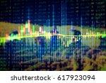 forex market background ... | Shutterstock . vector #617923094