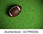 American Football On The Field...