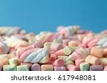 Marshmallows  Colorful Twisted...