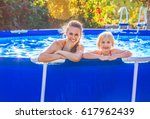 fun weekend alfresco. portrait... | Shutterstock . vector #617962439
