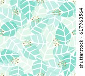 seamless repeat pattern with... | Shutterstock .eps vector #617963564