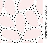 seamless repeat pattern with... | Shutterstock .eps vector #617966051
