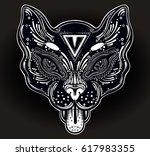 hand drawn beautiful artwork of ... | Shutterstock .eps vector #617983355