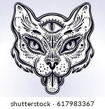 hand drawn beautiful artwork of ... | Shutterstock .eps vector #617983367