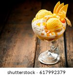 elegant serving of italian... | Shutterstock . vector #617992379